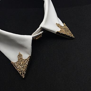 Heren / Dames Broches - Stijlvol, Modieus Broche Bronzen / Gouden Voor Bruiloft / Feest / Dagelijks gebruik / Causaal
