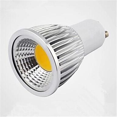 250-300lm GU10 LED Σποτάκια MR16 1 LED χάντρες COB Θερμό Λευκό / Ψυχρό Λευκό / Φυσικό Λευκό 85-265V