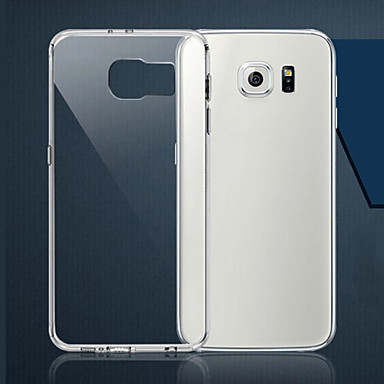 Capinha Para Samsung Galaxy Samsung Galaxy Capinhas Ultra-Fina Transparente Capa traseira Sólido TPU para S6