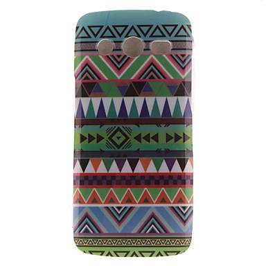 Για Samsung Galaxy Θήκη IMD tok Πίσω Κάλυμμα tok Γραμμές / Κύματα TPU Samsung Core LTE
