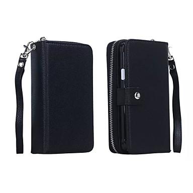 Voor Samsung Galaxy Note7 Portemonnee / Kaarthouder / Magnetisch hoesje Volledige behuizing hoesje Effen kleur PU-leer SamsungNote 7 /