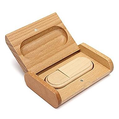 mooie houten model usb 2.0 geheugen flash drive pen driveu disk thumb drive 4gb