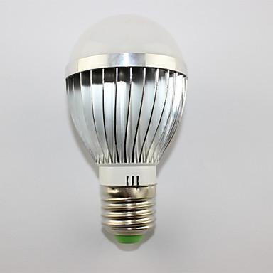 6000-6500 E26/E27 Lâmpada Redonda LED LEDs LED de Alta Potência Branco Frio 6000~6500KK AC 85-265V