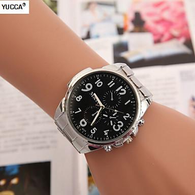 Heren Dress horloge Zwitsers Designer Kwarts Legering Band Zilver