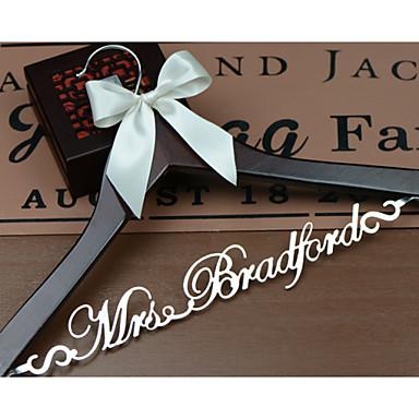 Bruid Bruidsmeisje Bloemenmeisje Echtpaar Hout Aluminum Alloy Creatief geschenk Bruiloft