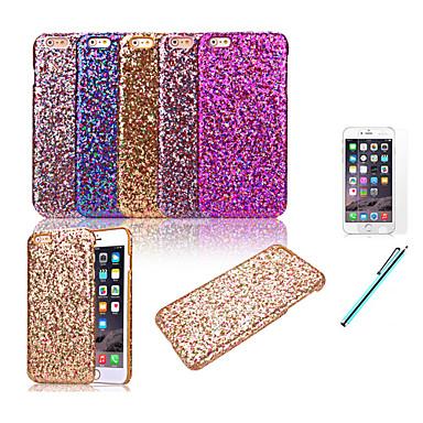 Capinha Para iPhone X iPhone 8 iPhone 8 Plus iPhone 6 iPhone 6 Plus Antichoque Capa Traseira Glitter Brilhante Rígida PC para iPhone X