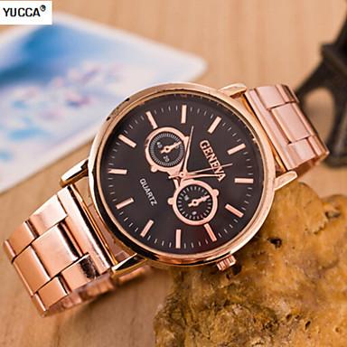 Dames Modieus horloge Zwitsers Designer Legering Band Goud Rose