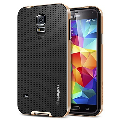 tok Για Samsung Galaxy Samsung Galaxy Θήκη Ανθεκτική σε πτώσεις Πίσω Κάλυμμα Συμπαγές Χρώμα Σιλικόνη για S5