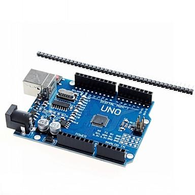 placa de desenvolvimento microcontrolador uno r3 reforçada ATmega328P para arduino
