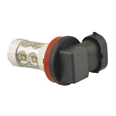 voordelige Autokoplampen-H11 Automatisch Lampen 60W SMD LED 800lm 12 LED Koplamp