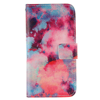 Voor Samsung Galaxy hoesje Portemonnee / Kaarthouder / met standaard / Flip hoesje Volledige behuizing hoesje Landschap PU-leer SamsungJ7
