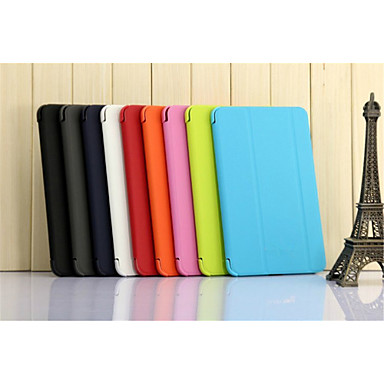 Case For Samsung Galaxy Tab A 8.0 Samsung Galaxy Case with Stand Flip Origami Full Body Cases Solid Color PU Leather for Tab 4 8.0 Tab 3