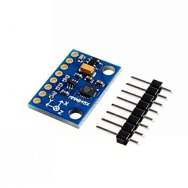 mma8452q 14-bit módulo sensor de inclinação aceleração digital de três eixos