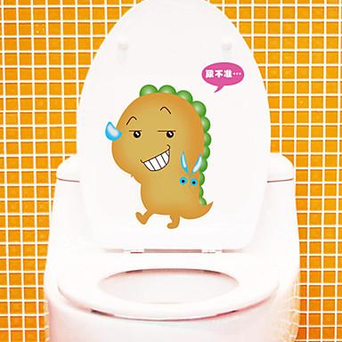 τοίχο αυτοκόλλητα τοίχου στυλ αυτοκόλλητα αυτοκόλλητα μόδας pvc υπέροχη τουαλέτα τοίχο
