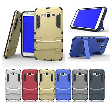 Para Samsung Galaxy Capinhas Antichoque / Com Suporte Capinha Capa Traseira Capinha Armadura PC Samsung J7 / J5