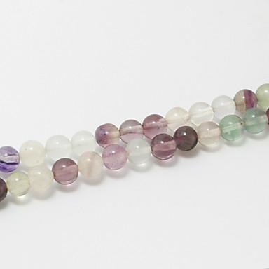 Jóias DIY 39cm/str Pedra Semi-Preciosa Forma redonda Bead faça você mesmo Colar Pulseiras