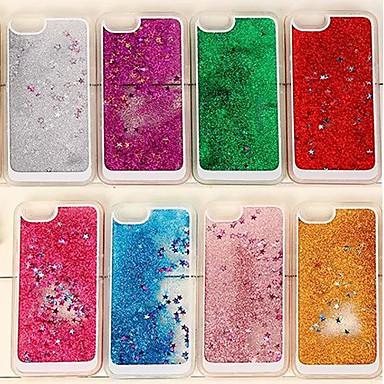 Capinha Para iPhone 6 iPhone 6 Plus Liquido Flutuante Capa Traseira Glitter Brilhante Macia TPU para iPhone 6s Plus iPhone 6 Plus iPhone