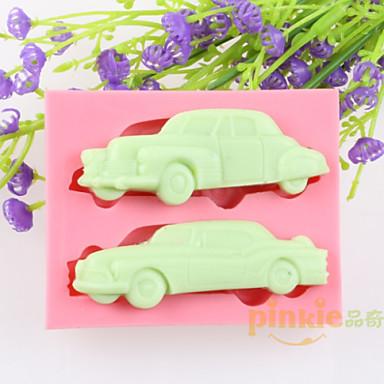 αυτοκίνητα φοντάν κέικ καλούπια σιλικόνης σοκολάτα, διακόσμηση εργαλεία bakeware