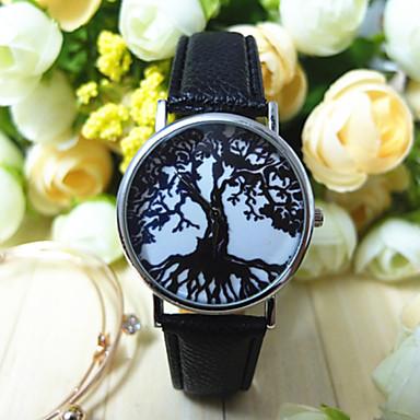 Dames Modieus horloge Kwarts PU Band