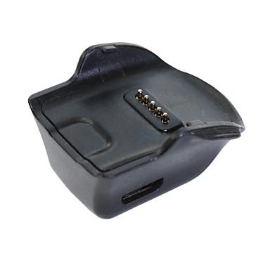 de alta qualidade doca carregador berço para a engrenagem do Samsung Galaxy ajuste do relógio R350 inteligente com cabo micro USB (1m)