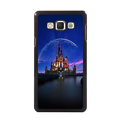 Para Samsung Galaxy Capinhas Case Tampa Estampada Capa Traseira Capinha Paisagem Urbana PC para Samsung A8 A7 A5 A3