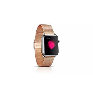 Milanese loop watch band com adaptador de aço inoxidável para apple watch 38mm 42mm