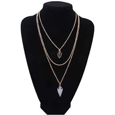 Κολιέ Κολιέ Δήλωση Κοσμήματα Πάρτι Καθημερινά Causal Heart Shape Καρδιά Κράμα Γυναικεία 1pc Δώρο