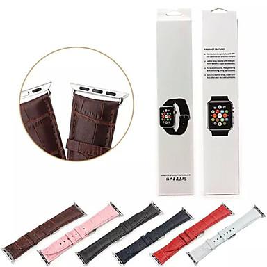 Παρακολουθήστε Band για Apple Watch Series 3 / 2 / 1 Apple Κλασικό Κούμπωμα Δέρμα Λουράκι Καρπού