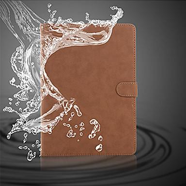 Capinha Para iPad Mini 3/2/1 Com Suporte Hibernação / Ligar Automático Magnética Capa Proteção Completa Côr Sólida PU Leather para iPad