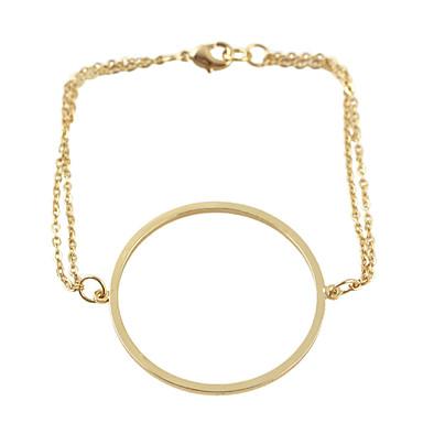 Dames Bedelarmbanden Legering Zwart Zilver Gouden Sieraden Voor Feest Dagelijks Causaal 1 stuks