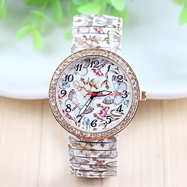 Xu™ Dames Modieus horloge Kwarts Roestvrij staal Band Meerkleurig