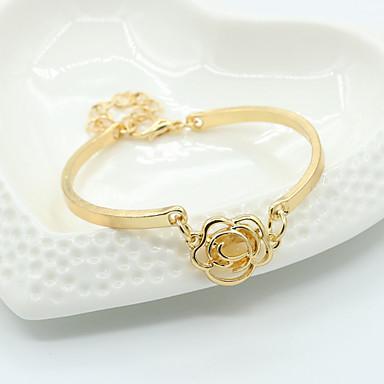 Dames Bangles Zilveren armbanden Guirlandes Kristal Acryl Strass Legering Sieraden Voor Bruiloft Feest Dagelijks Causaal 1 stuks