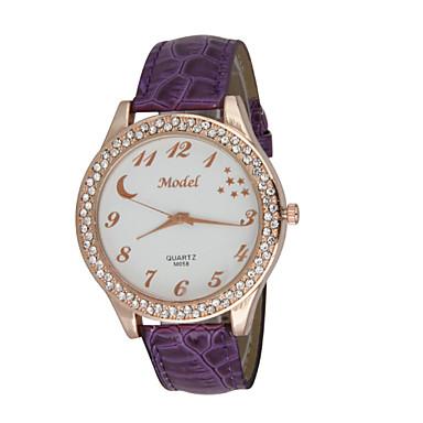 pentru Doamne Ceas Elegant Ceas La Modă Ceas de Mână Ceas Casual Quartz Calendar Rezistent la Șoc Mare Dial Piele Autentică Bandă Casual