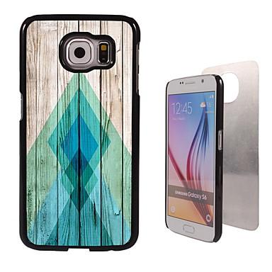 Voor Samsung Galaxy hoesje Hoesje cover Patroon Achterkantje hoesje Geometrisch patroon PC voor Samsung S6 edge