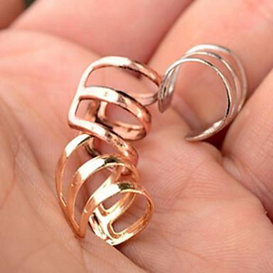 Homens Mulheres Punhos da orelha Brinco Estilo simples Moda bijuterias Liga Jóias Jóias Para Casamento Festa Diário Casual