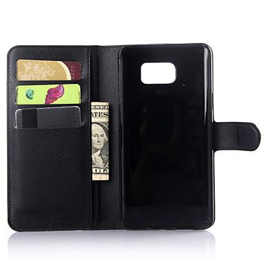 Недорогие Чехлы и кейсы для Galaxy Note-DE JI Кейс для Назначение SSamsung Galaxy Samsung Galaxy Note Кошелек / Бумажник для карт / со стендом Однотонный для