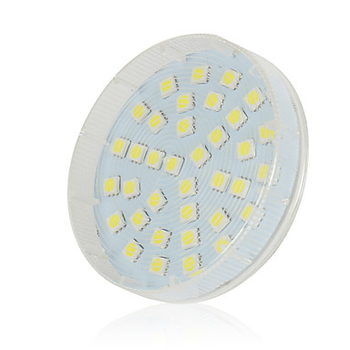 lexing gx53 5w 36x5050smd 300-400lm ζεστό άσπρο / δροσερό λευκό / φυσικό λευκό led λαμπτήρων (220 ~ 240v)