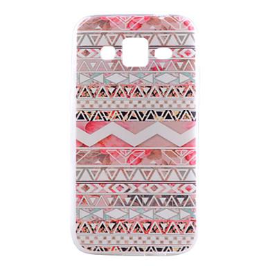 Voor Samsung Galaxy hoesje Patroon hoesje Achterkantje hoesje Geometrisch patroon TPU Samsung Grand Prime / Core Prime / Alpha