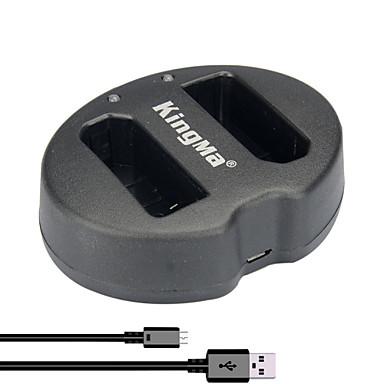 kingma® dual dual slot usb lader voor Nikon EN-EL14 batterij voor Nikon P7000 P7100 p7700 p7800 D5100 D5300 camera