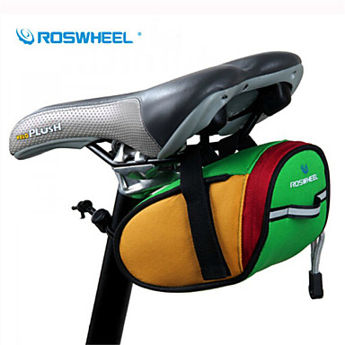 Rosewheel 0.8 L Bolsa para Bagageiro de Bicicleta Prova-de-Água Bolsa de Bicicleta 600D de poliéster Bolsa de Bicicleta Bolsa de Ciclismo