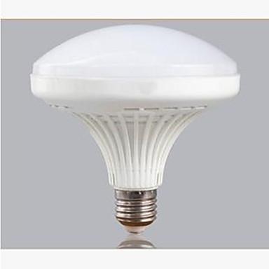 e26 / e27 led gloeilampen a60 (a19) 60 smd 5730 2700lm koud wit 6000k decoratief ac 220-240v