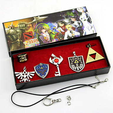 Sieraden geinspireerd door The Legend of Zelda Cosplay Anime/ Videogames Cosplayaccessoires Kettingen Broche Legering Heren Dames