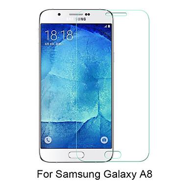 Προστατευτικό οθόνης Samsung Galaxy για A8 Σκληρυμένο Γυαλί Προστατευτικό μπροστινής οθόνης Κατά των Δαχτυλιών