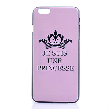 Capinha Para iPhone 6s Plus iPhone 6 Plus Apple iPhone 6 Plus Capa traseira Rígida PC para iPhone 6s Plus iPhone 6 Plus