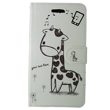 Voor Nokia hoesje Portemonnee / Kaarthouder / met standaard hoesje Volledige behuizing hoesje Cartoon Hard PU-leer Nokia Nokia Lumia 640