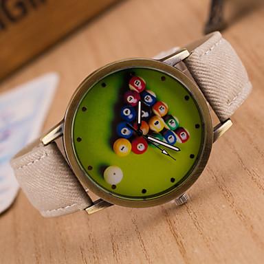 Heren Dames Unisex Modieus horloge Kwarts PU Band