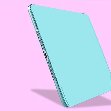 Pouzdro Uyumluluk iPad Air Satandlı Oto Uyu / Uyan Tam Kaplama Kılıf Tek Renk PU Deri için