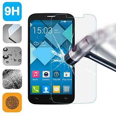 filme protetor de tela de vidro temperado para Alcatel One Touch pop c9