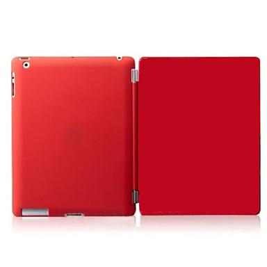 케이스 제품 Apple 아이 패드 미니 4 아이 패드 미니 3/2/1 아이 패드 4/3/2 자동 슬립 / 웨이크 기능 마그네틱 전체 바디 케이스 솔리드 하드 PU 가죽 용 iPad Mini 4 iPad Mini 3/2/1 iPad 4/3/2