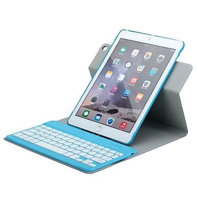 ασύρματο πληκτρολόγιο Bluetooth μπορεί να χωριστεί σε αφήσει δερμάτινη θήκη PU για iPad 4 / iPad 3 / iPad 2